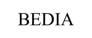mark for BEDIA, trademark #77029650