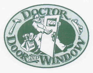 mark for DOCTOR DOOR AND WINDOW, trademark #77030614