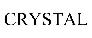 mark for CRYSTAL, trademark #77030936