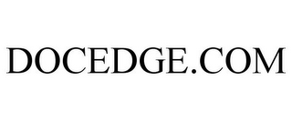 mark for DOCEDGE.COM, trademark #77031450