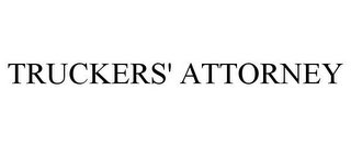 mark for TRUCKERS' ATTORNEY, trademark #77031498