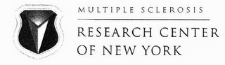 mark for MULTIPLE SCLEROSIS RESEARCH CENTER OF NEW YORK, trademark #77032826
