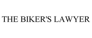 mark for THE BIKER'S LAWYER, trademark #77036697