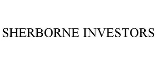 mark for SHERBORNE INVESTORS, trademark #77037670