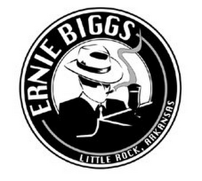 mark for ERNIE BIGGS LITTLE ROCK, ARKANSAS, trademark #77039377