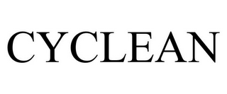 mark for CYCLEAN, trademark #77039928