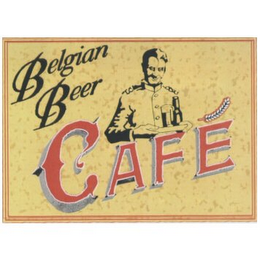 mark for BELGIAN BEER CAFE, trademark #77040715