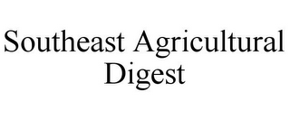mark for SOUTHEAST AGRICULTURAL DIGEST, trademark #77041115