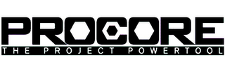 mark for PROCORE THE PROJECT POWERTOOL, trademark #77041287