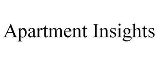 mark for APARTMENT INSIGHTS, trademark #77042037