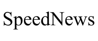 mark for SPEEDNEWS, trademark #77043214