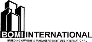 mark for BOMI INTERNATIONAL BUILDING OWNERS & MANAGERS INSTITUTE INTERNATIONAL, trademark #77044405