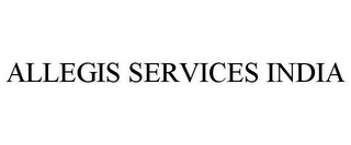 mark for ALLEGIS SERVICES INDIA, trademark #77045369
