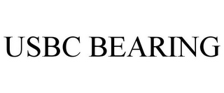 mark for USBC BEARING, trademark #77046291