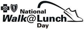 mark for NATIONAL WALK @ LUNCH DAY, trademark #77048611
