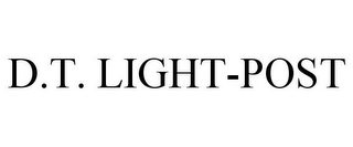 mark for D.T. LIGHT-POST, trademark #77048750