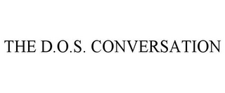 mark for THE D.O.S. CONVERSATION, trademark #77050137