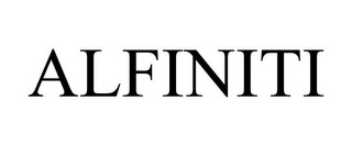 mark for ALFINITI, trademark #77050354