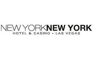 mark for NEW YORK NEW YORK HOTEL & CASINO - LAS VEGAS, trademark #77054297
