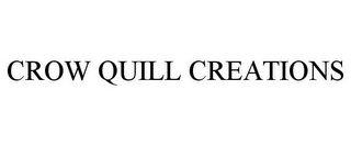 mark for CROW QUILL CREATIONS, trademark #77054699