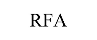 mark for RFA, trademark #77054916
