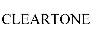 mark for CLEARTONE, trademark #77055051