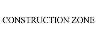 mark for CONSTRUCTION ZONE, trademark #77055062