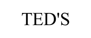 mark for TED'S, trademark #77055194