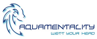 mark for AQUAMENTALITY WETT YOUR HEAD, trademark #77057782