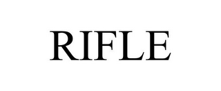 mark for RIFLE, trademark #77058826