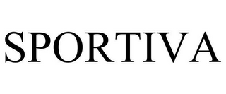 mark for SPORTIVA, trademark #77062148