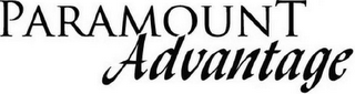 mark for PARAMOUNT ADVANTAGE, trademark #77062214