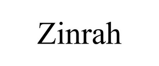 mark for ZINRAH, trademark #77062275