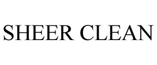 mark for SHEER CLEAN, trademark #77063044