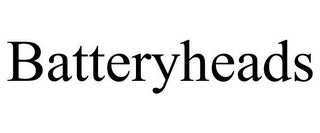 mark for BATTERYHEADS, trademark #77063902