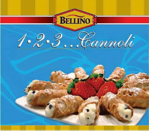 mark for BELLINO 1·2·3...CANNOLI, trademark #77064444