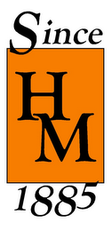 mark for HM SINCE 1885, trademark #77064940