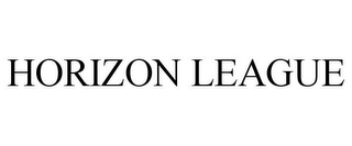 mark for HORIZON LEAGUE, trademark #77065048