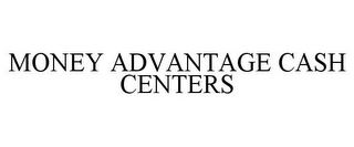 mark for MONEY ADVANTAGE CASH CENTERS, trademark #77066714