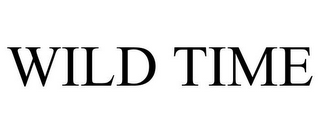 mark for WILD TIME, trademark #77067102