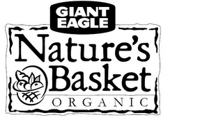 mark for GIANT EAGLE NATURE'S BASKET ORGANIC, trademark #77067416