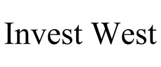 mark for INVEST WEST, trademark #77069355
