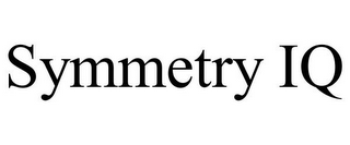 mark for SYMMETRY IQ, trademark #77069722