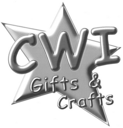 mark for CWI GIFTS & CRAFTS, trademark #77069930