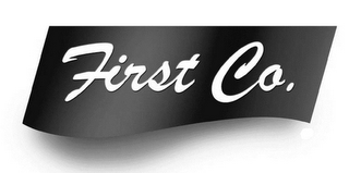 mark for FIRST CO., trademark #77071778