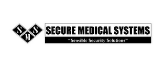 "mark for SMS SECURE MEDICAL SYSTEMS ""SENSIBLE SECURITY SOLUTIONS"", trademark #77071782"