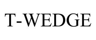 mark for T-WEDGE, trademark #77071853