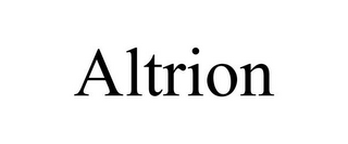 mark for ALTRION, trademark #77073739