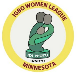mark for IGBO WOMEN LEAGUE MINNESOTA IDI N'OTU (UNITY), trademark #77073988