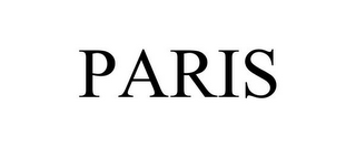 mark for PARIS, trademark #77074187